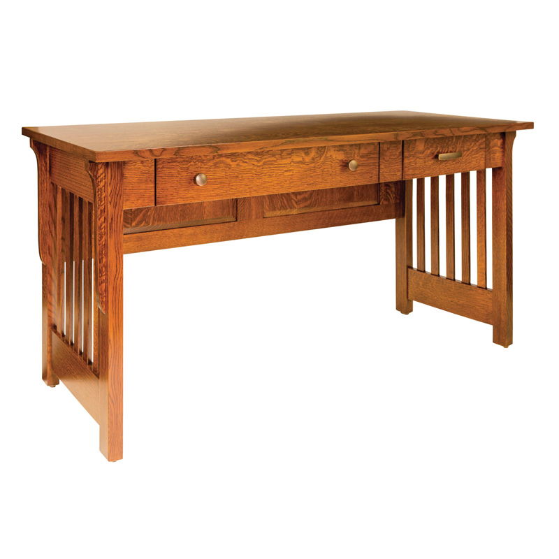 "Amish Boston Open Desk 60""W 