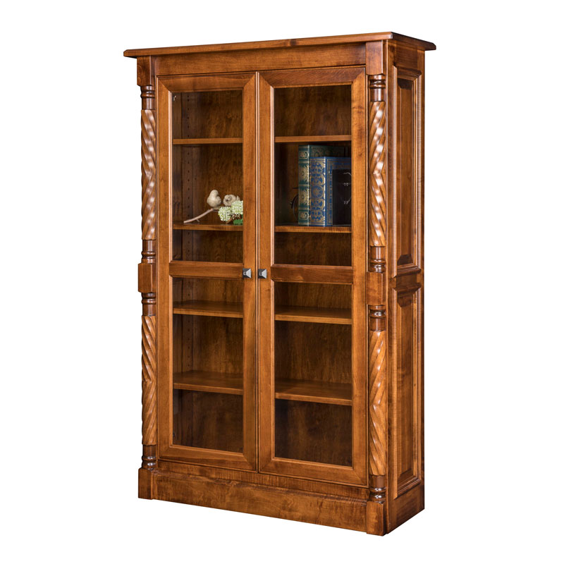 Kincaid Bookcase w-Full Length Doors