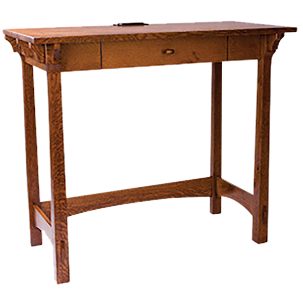 Amish Manitoba Standing Desk | Amish Furniture | Shipshewana Furniture Co.