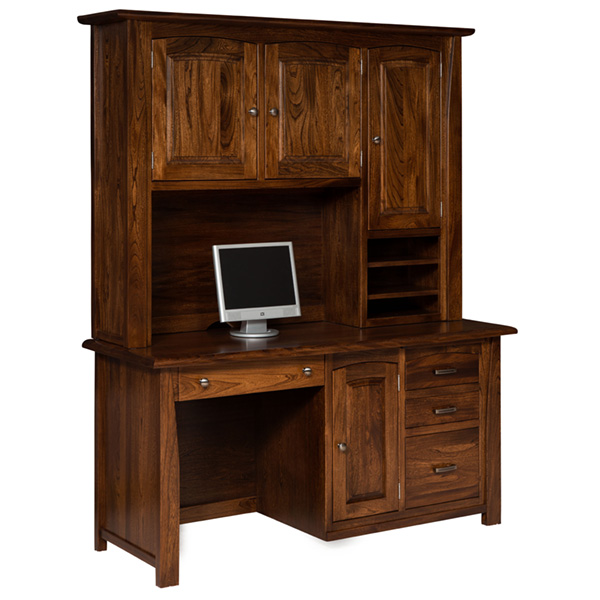 Amish Mondovi Computer Desk | Amish Furniture | Shipshewana Furniture Co.