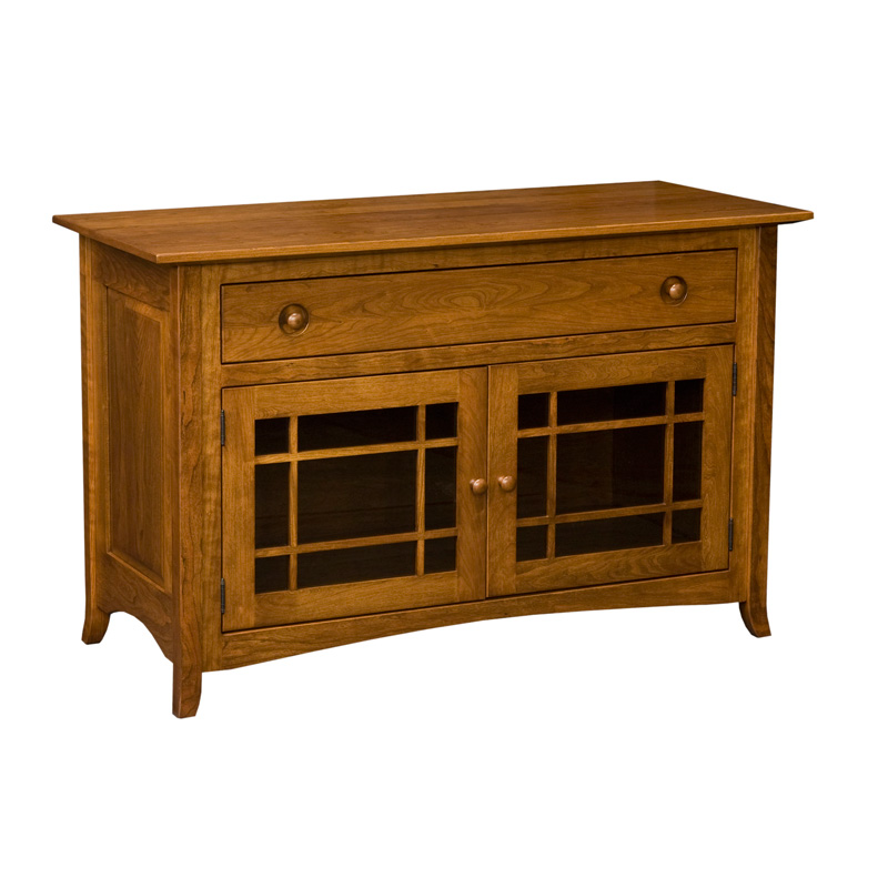 "Shaker Hill Credenza 49"", 2 Door / 1 Drawer"