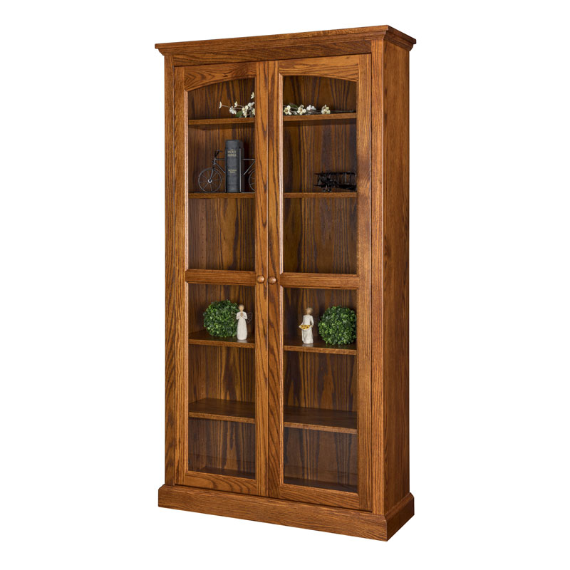 Siloam Bookcase w-Full Length Doors
