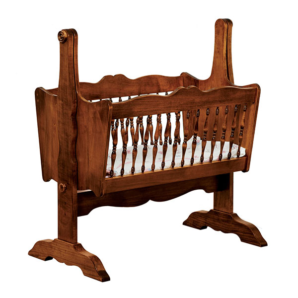Amish Classic Cradle | Amish Furniture | Shipshewana Furniture Co.