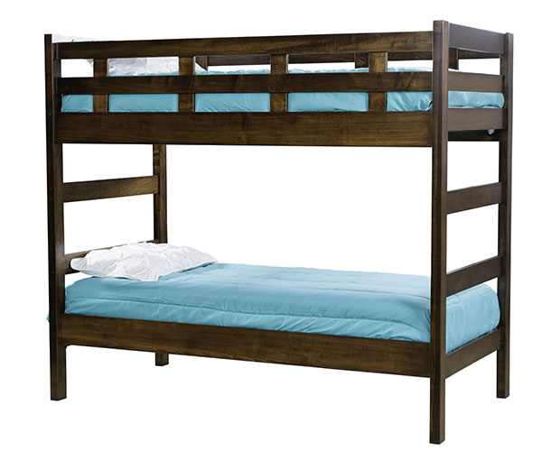 Bunk Bed w-Ladder End