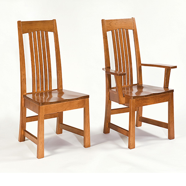 Amish Ashcroft Dining Chairs | Amish Furniture | Shipshewana Furniture Co.