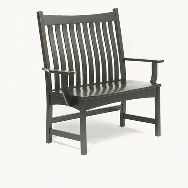 Amish Bennett Bench | Amish Furniture | Shipshewana Furniture Co.
