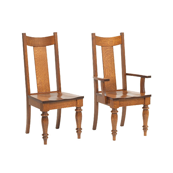 Amish Bryant Dining Chairs | Amish Furniture | Shipshewana Furniture Co.