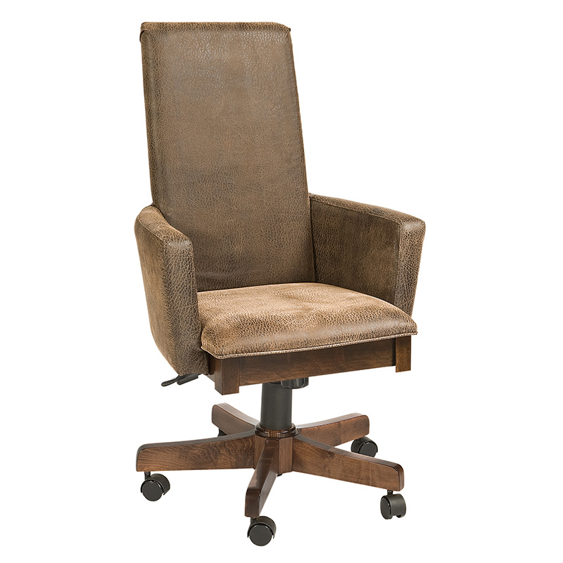 Burbank Desk Arm Chair w/ Gas Lift