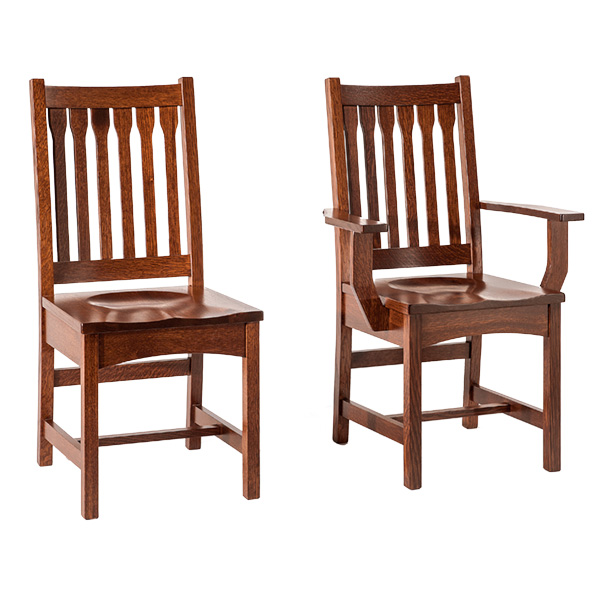 Amish Bosworth Dining Chair | Amish Furniture | Shipshewana Furniture Co.