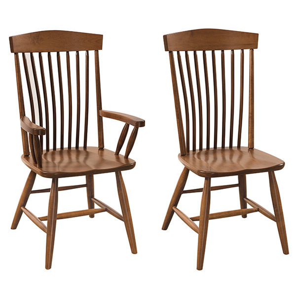 Amish Albion Dining Chairs | Amish Furniture | Shipshewana Furniture Co.