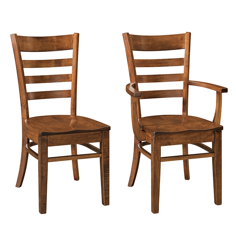 Amish Brooklyn Dining Chairs | Amish Furniture | Shipshewana Furniture Co.