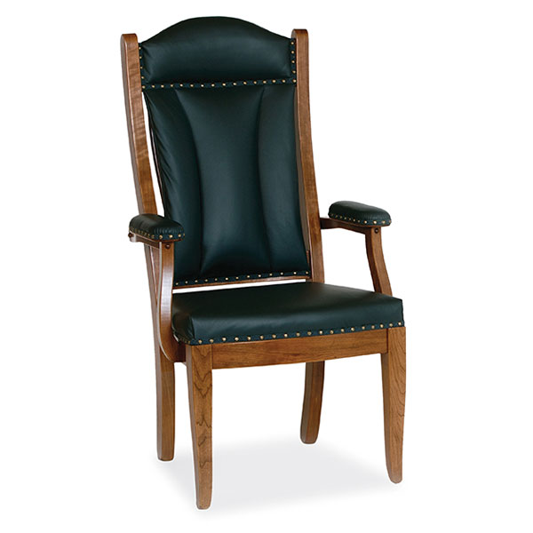 Amish Client Arm Chair | Amish Furniture | Shipshewana Furniture Co.