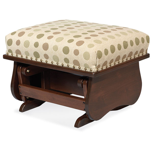 Amish Gliding Ottoman | Amish Furniture | Shipshewana Furniture Co.