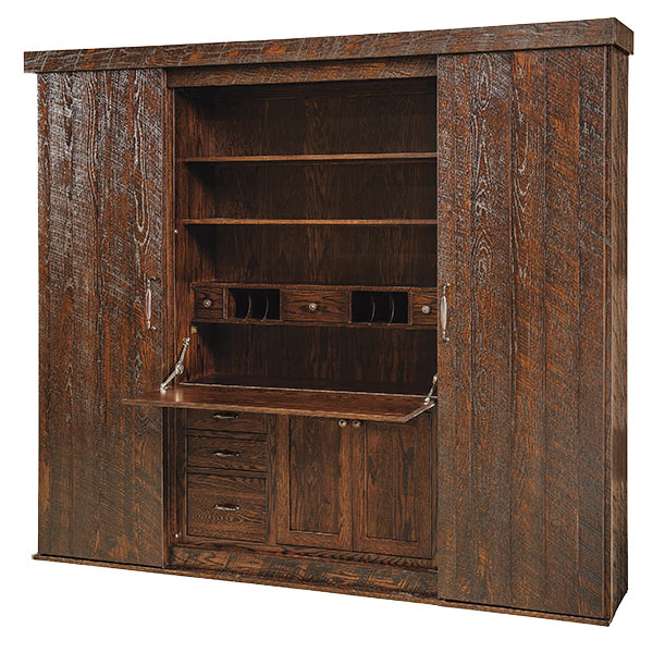 Amish Brady Desk Wall | Amish Furniture | Shipshewana Furniture Co.