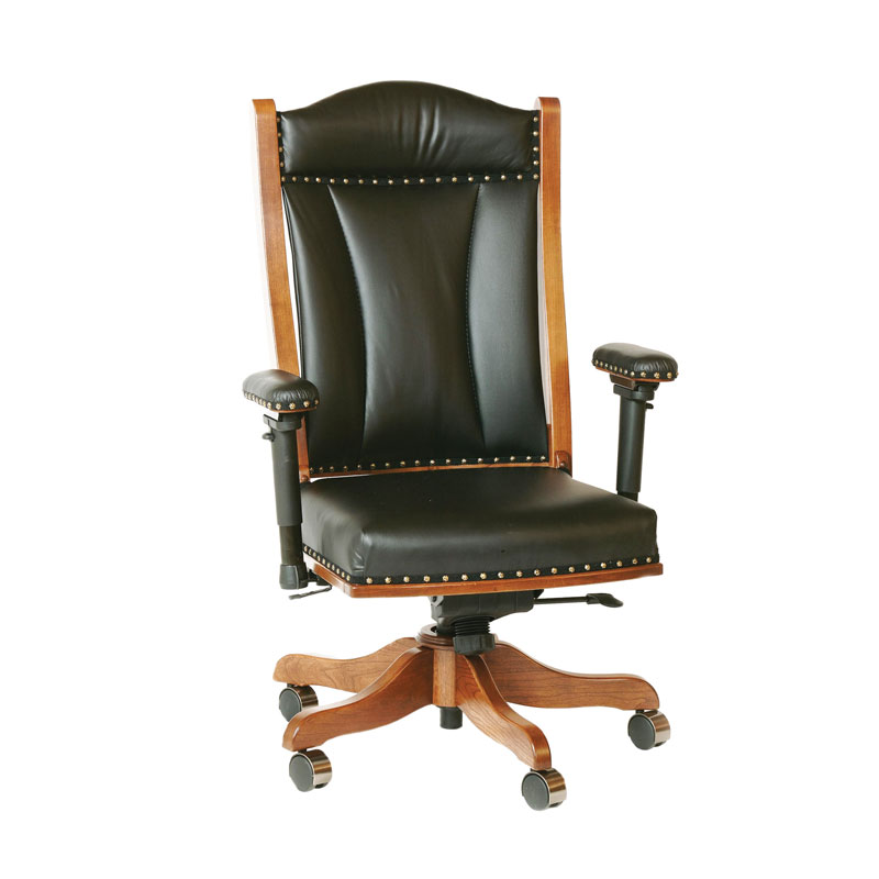 Desk Chair with Adjustable Arms