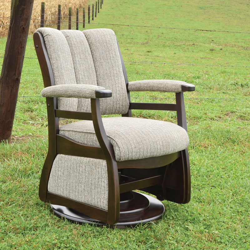 Paris Low Back Swivel Glider