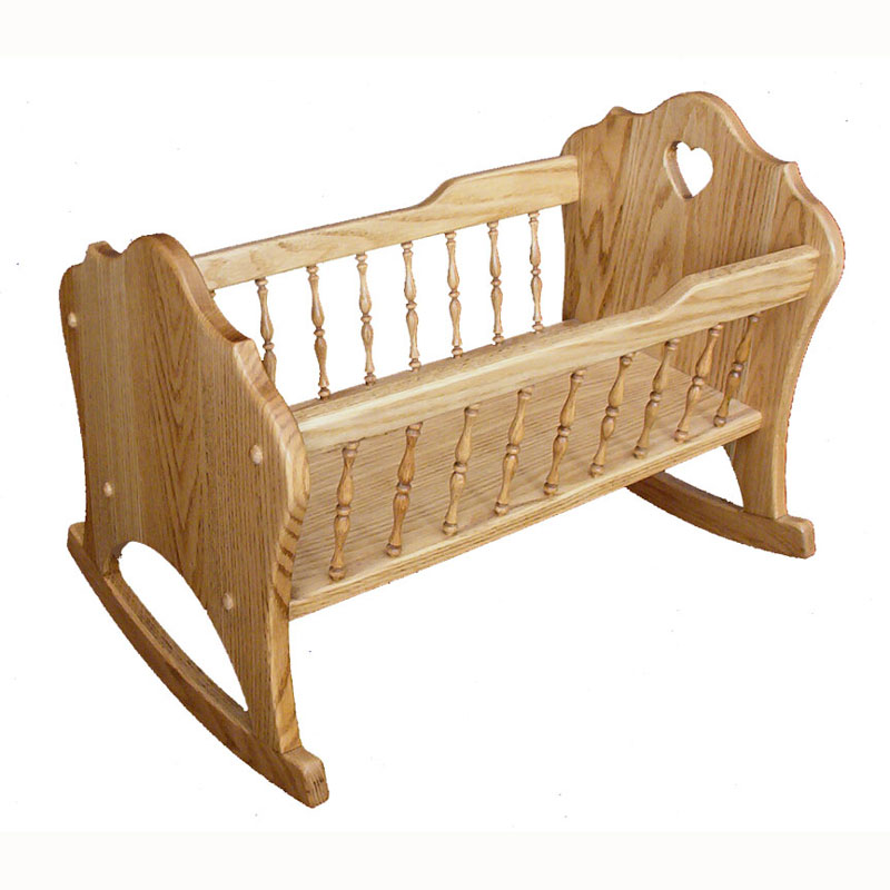Doll Cradle with Spindles