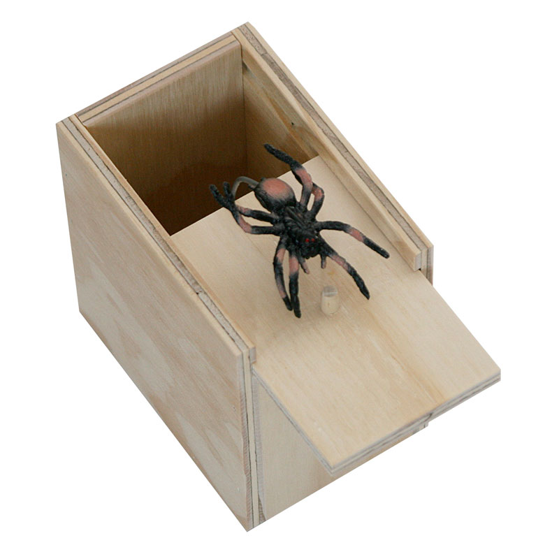 Surpise Spider Box