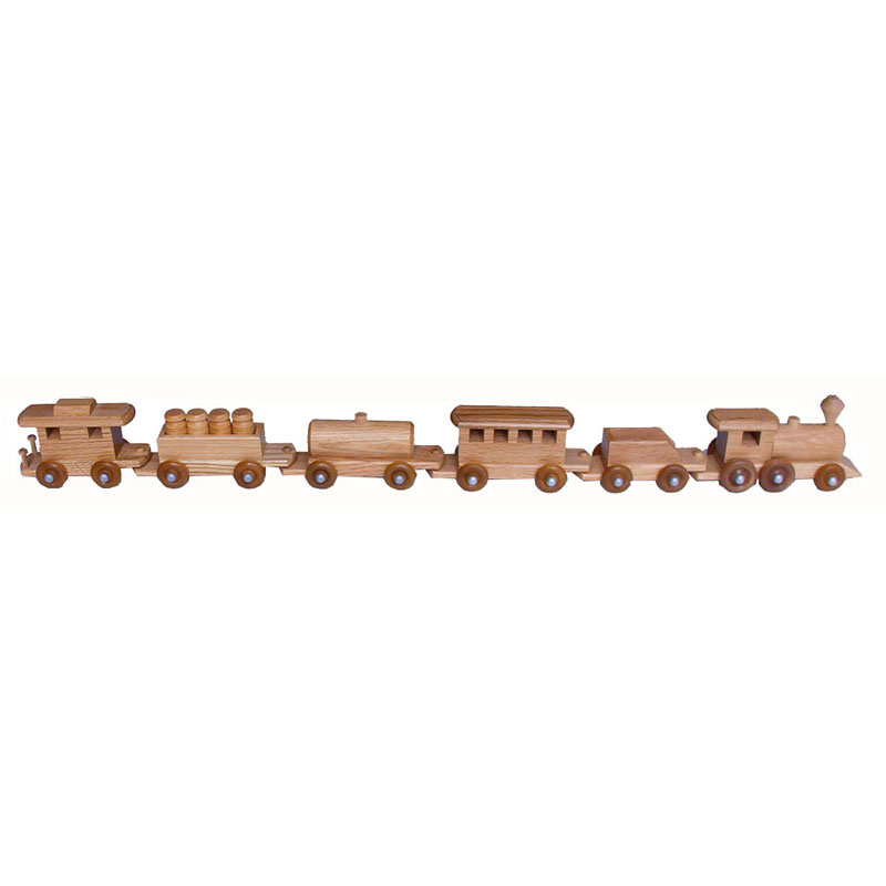 Medium Oak Train