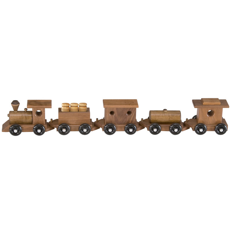 Classic Walnut Train