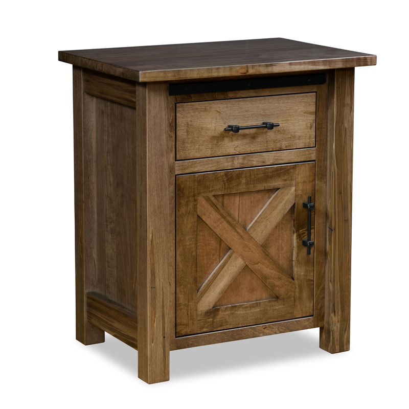 Timberline Nightstand 1 drawer-1 door