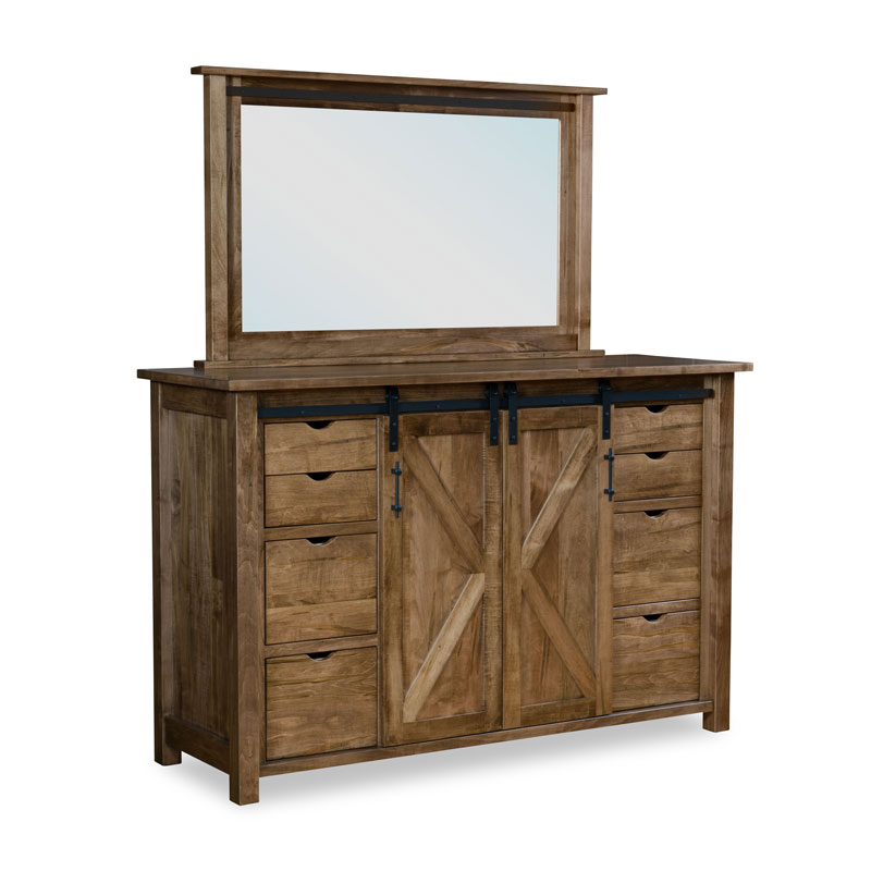 Timberline Dresser 11 drawer-2 door
