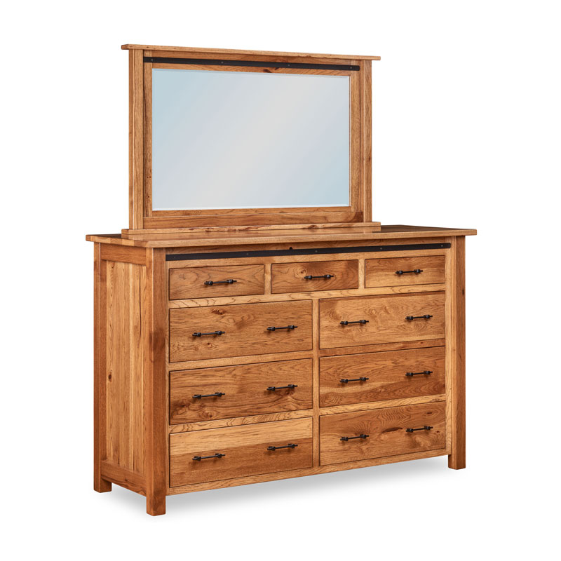 Timberline 9 Drawer Dresser
