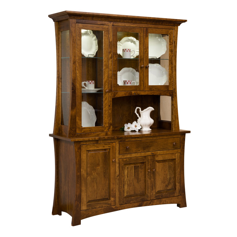 Amish Archer Hutch | Amish Furniture | Shipshewana Furniture Co.
