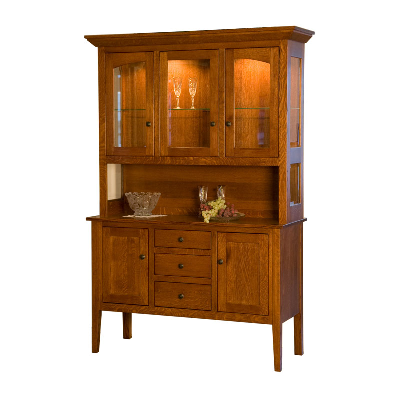 Amish Paramount Hutch | Amish Furniture | Shipshewana Furniture Co.
