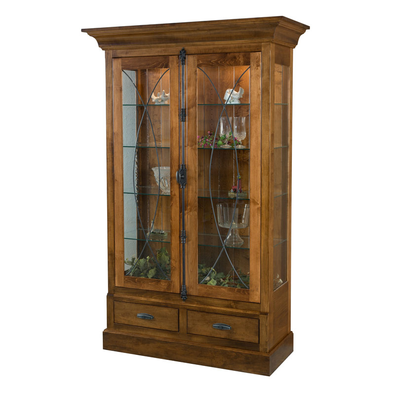 Amish Bozeman Curio | Amish Furniture | Shipshewana Furniture Co.