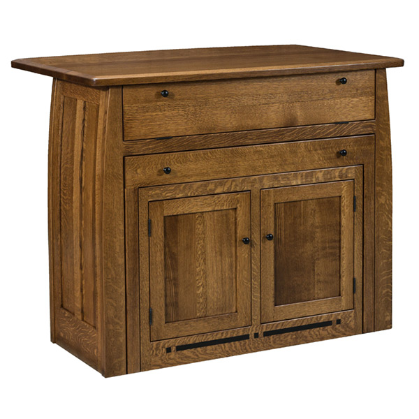 Boulder Creek Frontier Island Amish Buffets Amp Sideboards