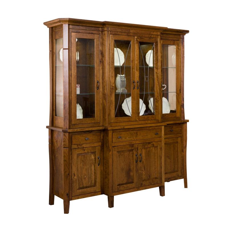 Amish Canterbury Hutch | Amish Furniture | Shipshewana Furniture Co. - Amish Hutches, Amish Furniture Shipshewana Furniture Co.
