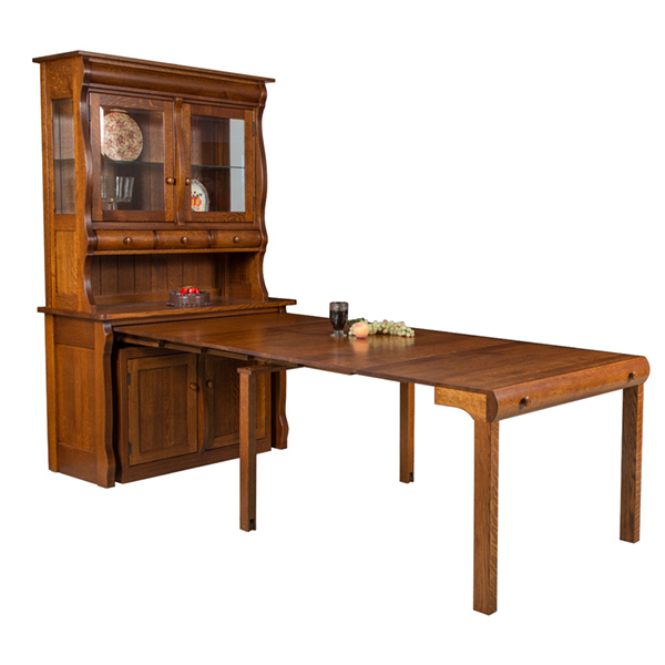 Amish Hillsdale Frontier Hutch | Amish Furniture | Shipshewana Furniture Co.
