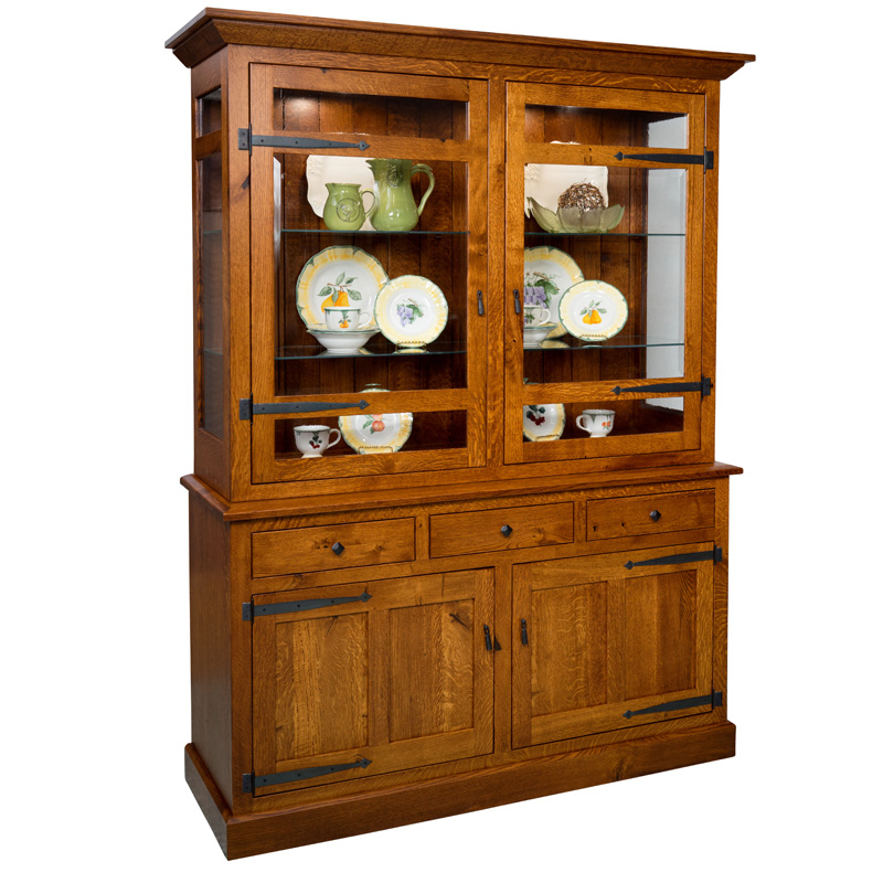 Amish Carlsbad Hutch | Amish Furniture | Shipshewana Furniture Co.