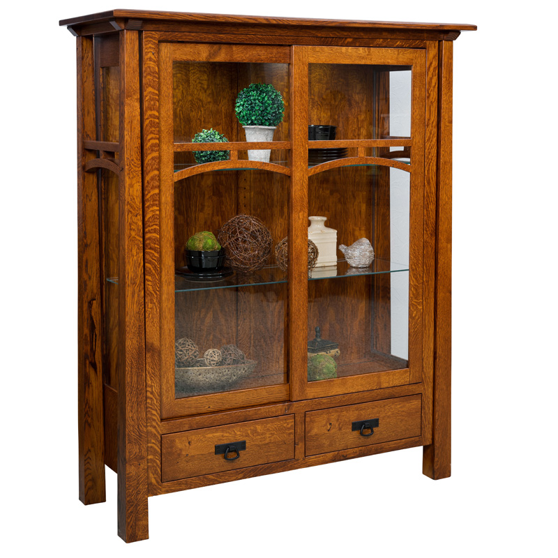 Amish Anderson Curio | Amish Furniture | Shipshewana Furniture Co.