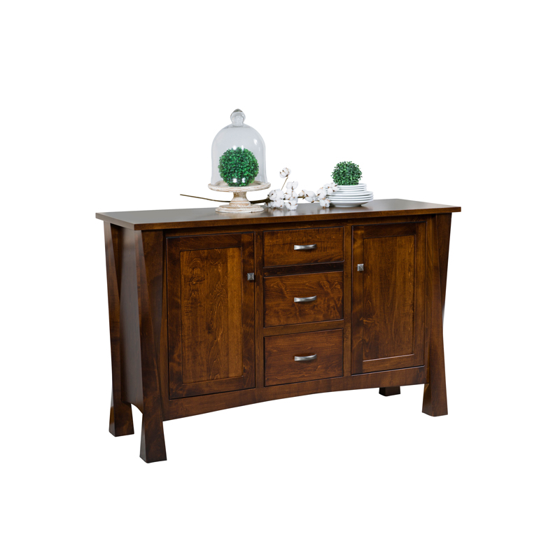 Leonard Sideboard - 2 Door -3 Center Drawers