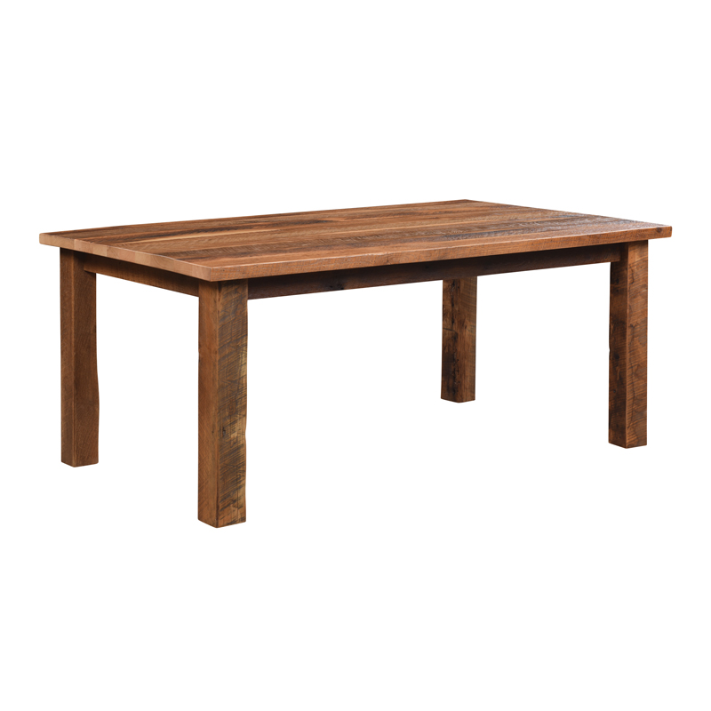Almanzo Dining Table - Solid Top
