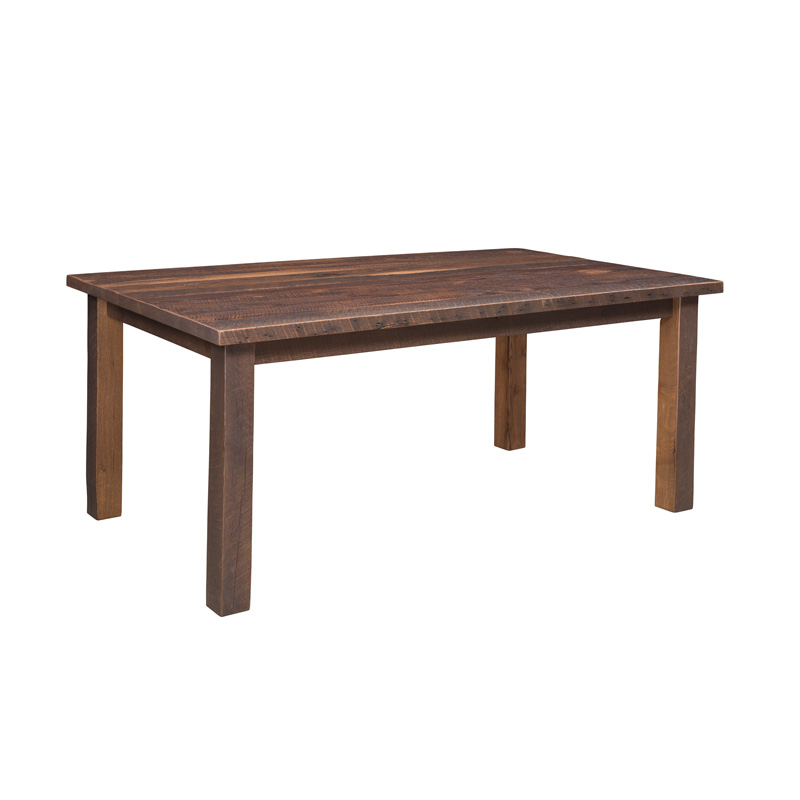 Oxbow Dining Table - Solid Top