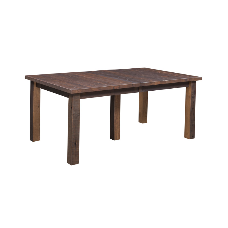 Oxbow Dining Table w/ Leaves