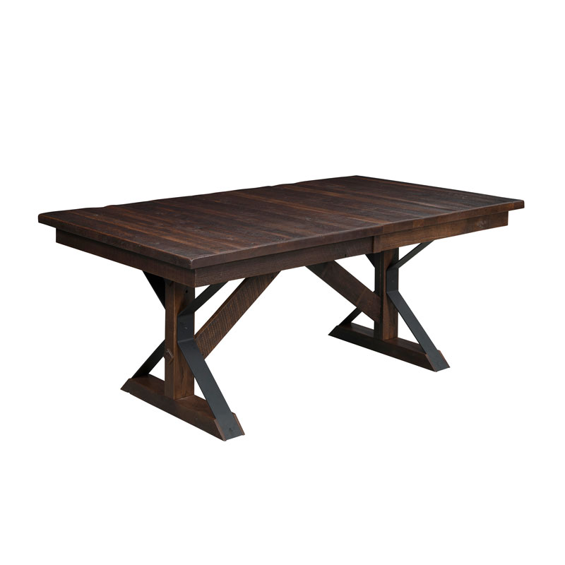 Wellington Dining Table - Solid Top