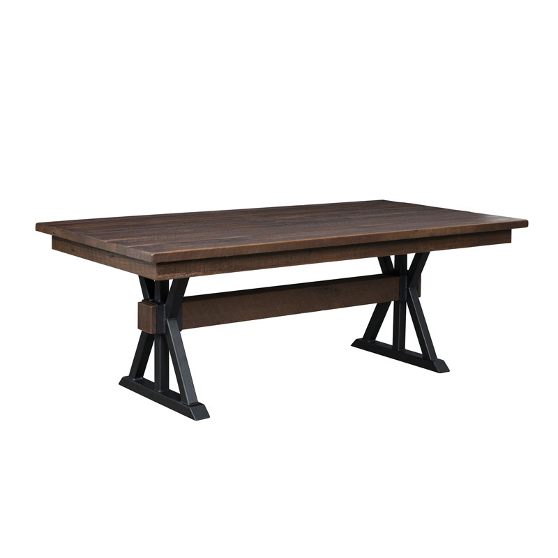 Boswell Dining Table - Solid Top