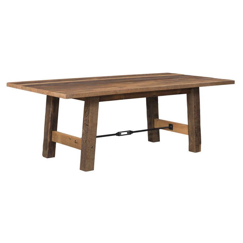 Cleveland Dining Table - Solid Top