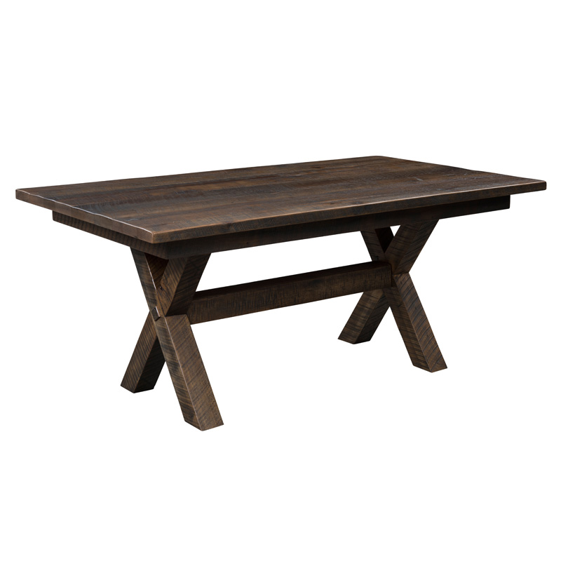 Buxton Dining Table - Solid Top