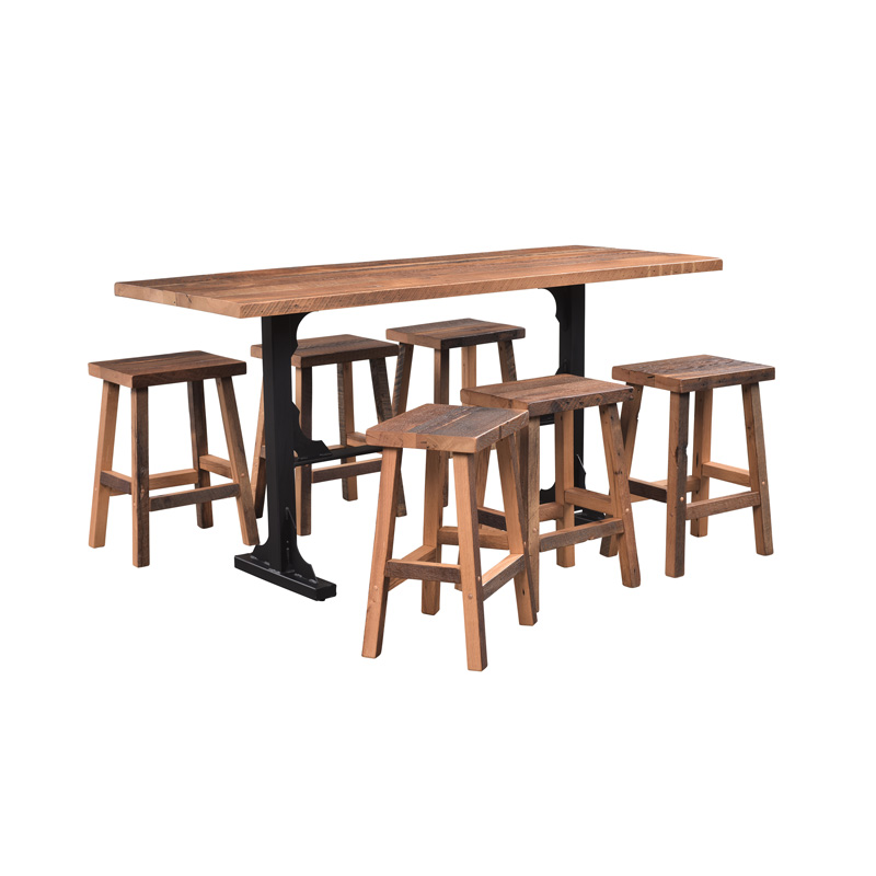Bremen Bar Table - Solid Top