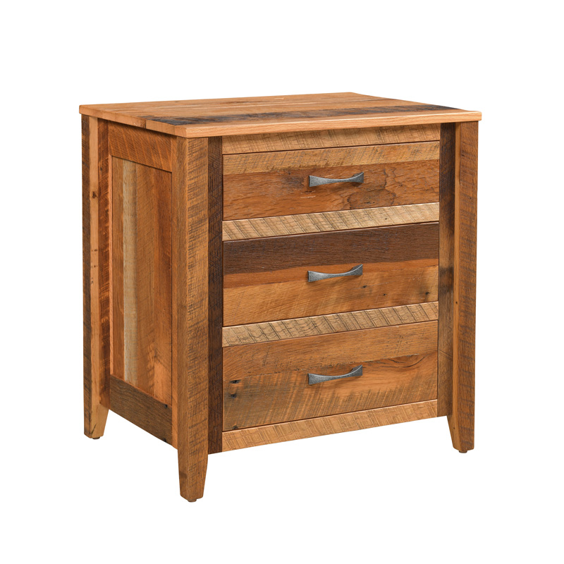 Shefford 3 Drawer Nightstand