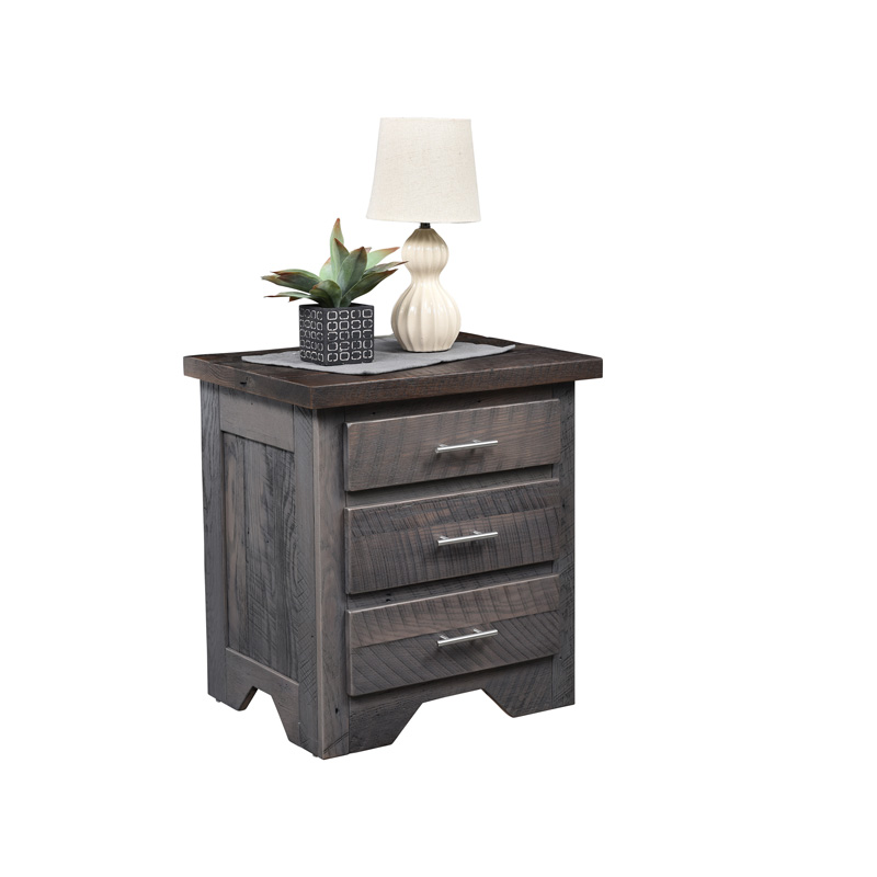 London Fog 3 Drawer Nightstand