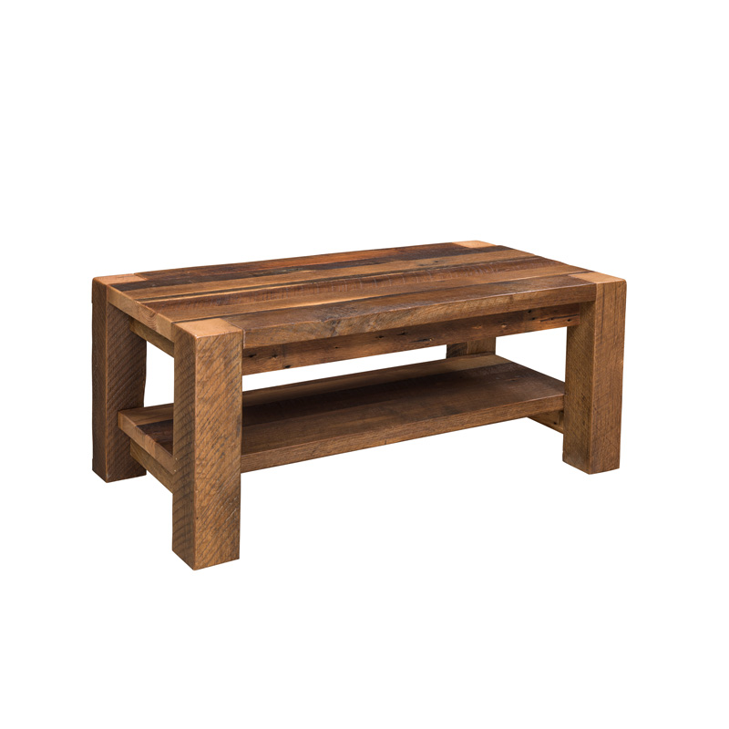 Timber Ridge Coffee Table w/ Shelf