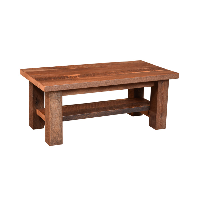 Almanzo Coffee Table w/ Shelf