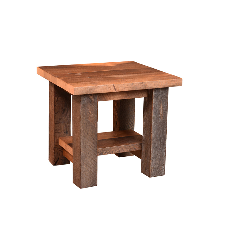 Almanzo End Table w/ Shelf