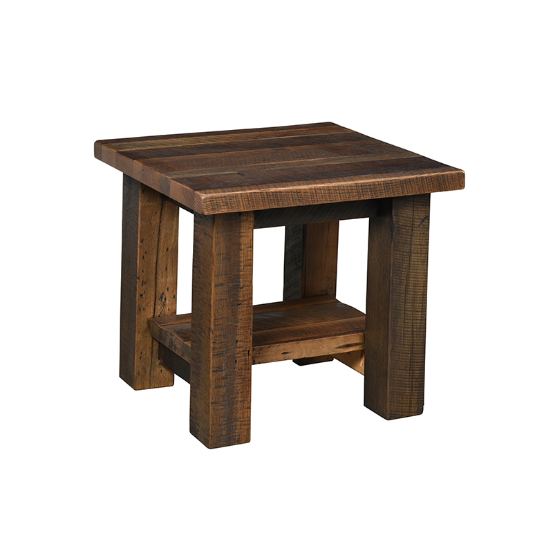 Kingwood End Table w/ Shelf